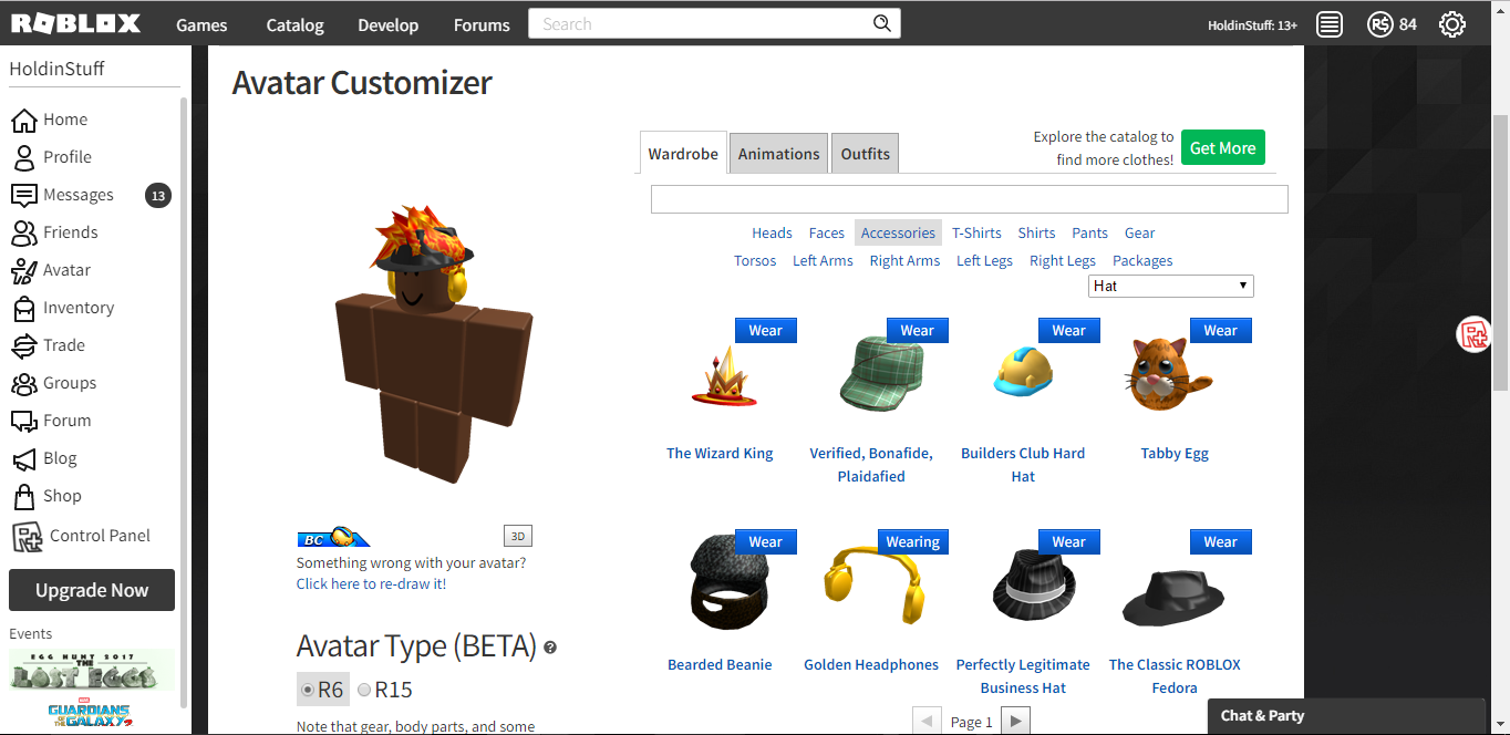 Selling - SELLING ROBLOX ACCOUNT (BC ACC) $475 CREDIT