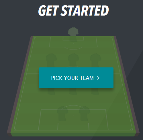 Get started and pick your team