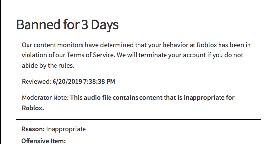 Bypassed Roblox Audios 2019