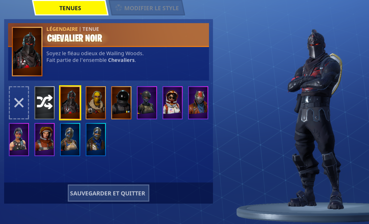 Selling Sold Stacked Fortnite Account ๑ Black Knight