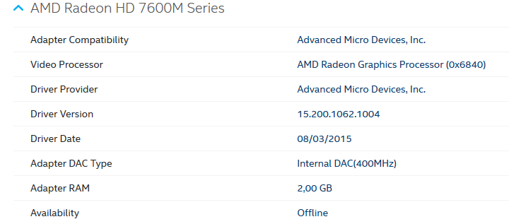 amd radeon hd 7500m/7600m series driver free download