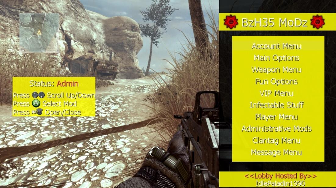 Xbox 360 - BzH35's MoDz (Old WaW Patch) | Mod Menu Style