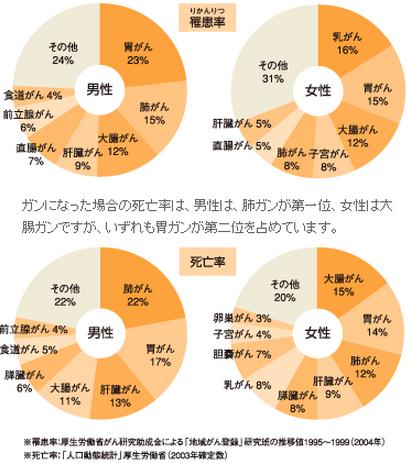 日本人の死亡率 ランキングBEST5 と番外編 13