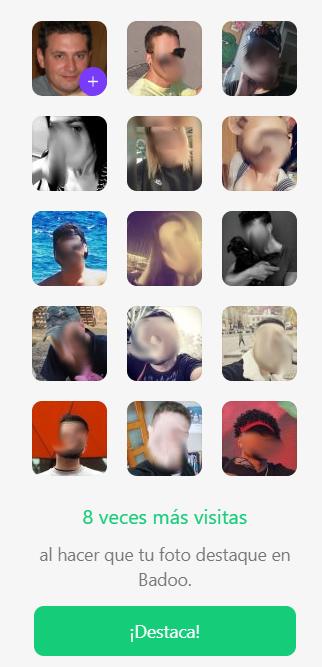 Usuarios destacados de badoo
