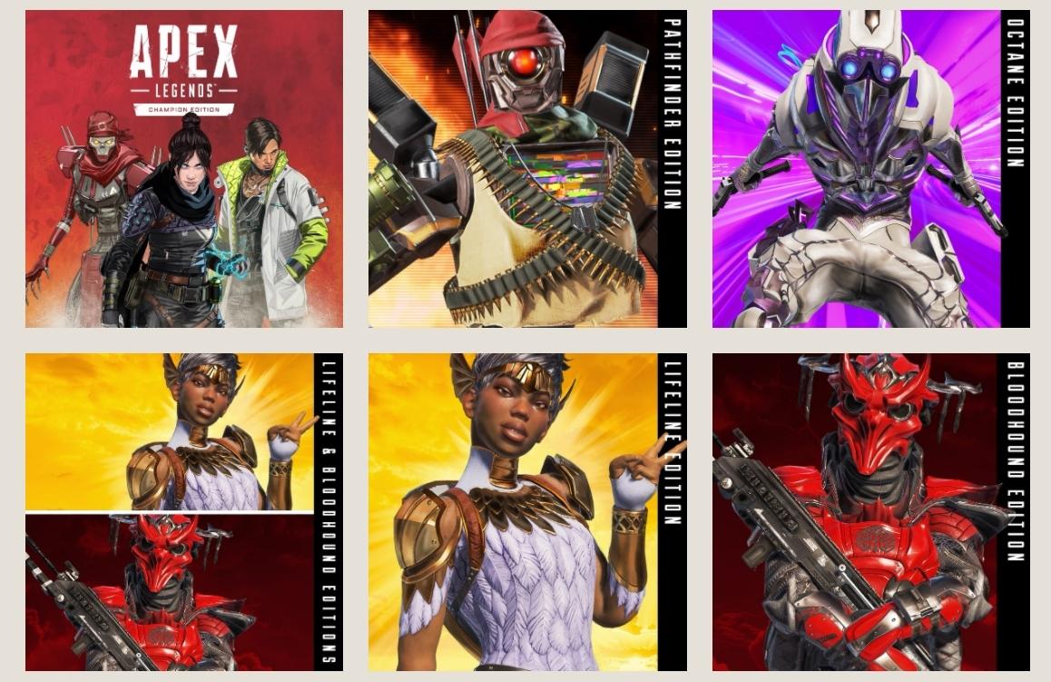 Apex Legends Editions