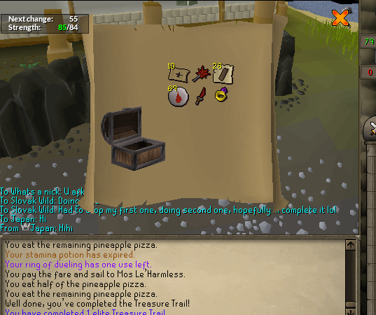 First elite clue scroll reward - Runescape - OSBot :: 2007 OSRS Botting