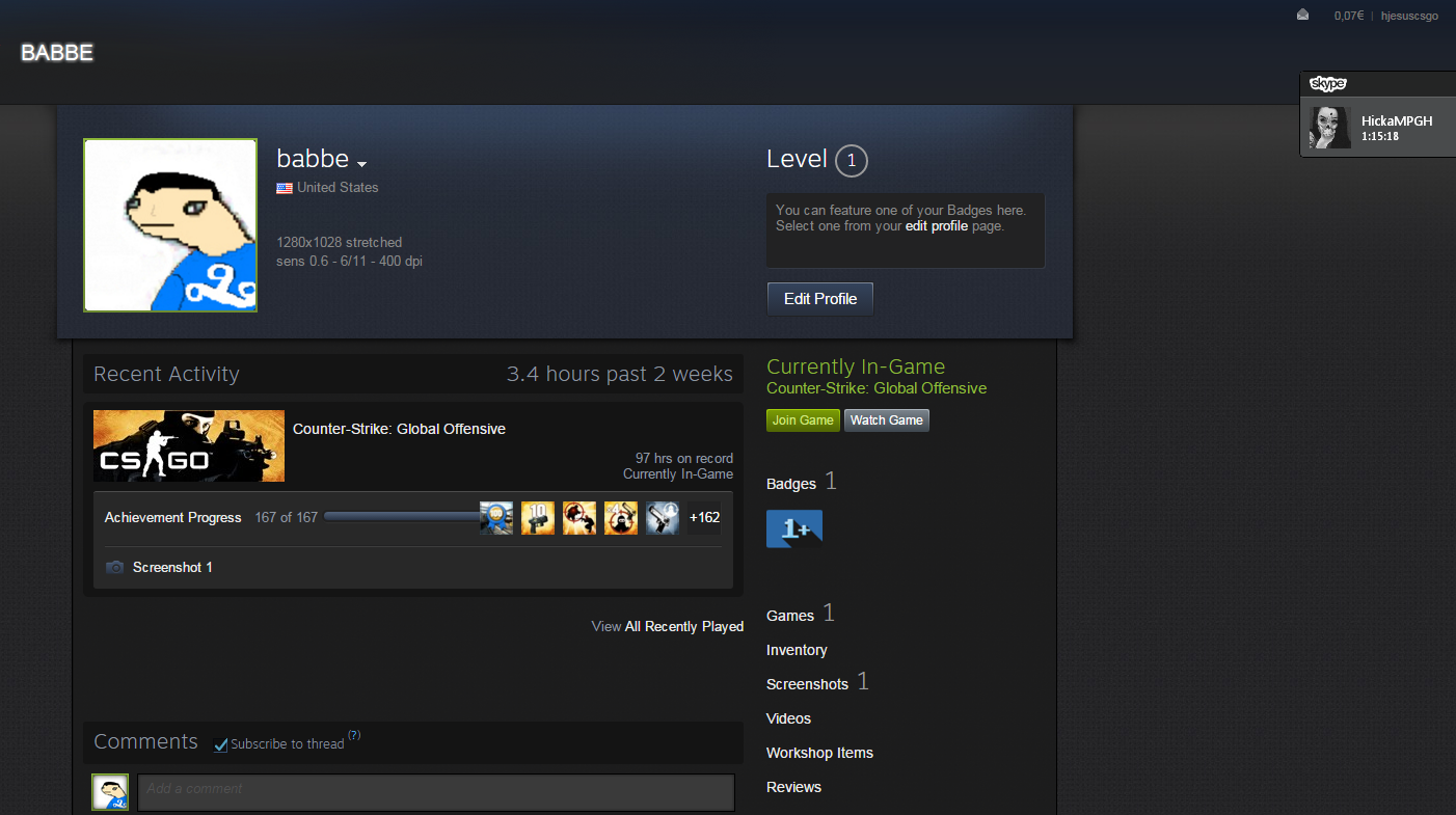 [WTS] STEAM ACCOUNT [CS:GO, LEGENDARY EAGLE, 91HRS, PROFILE RANK 15] - MPGH - MultiPlayer Game ...
