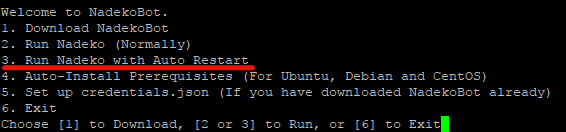 debian reboot command