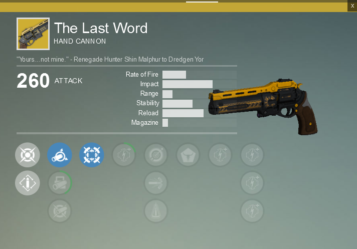 The luck of the engrams the tech game
