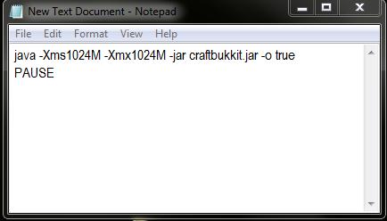 Craftbukkit Server