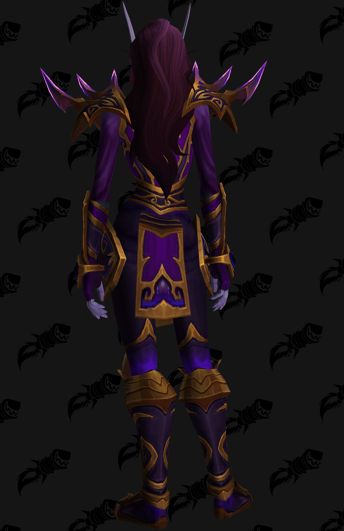 Allied Races Void Elf Heritage Armor : Allied race heritage armor sets with all color variations | new void elf weapons!