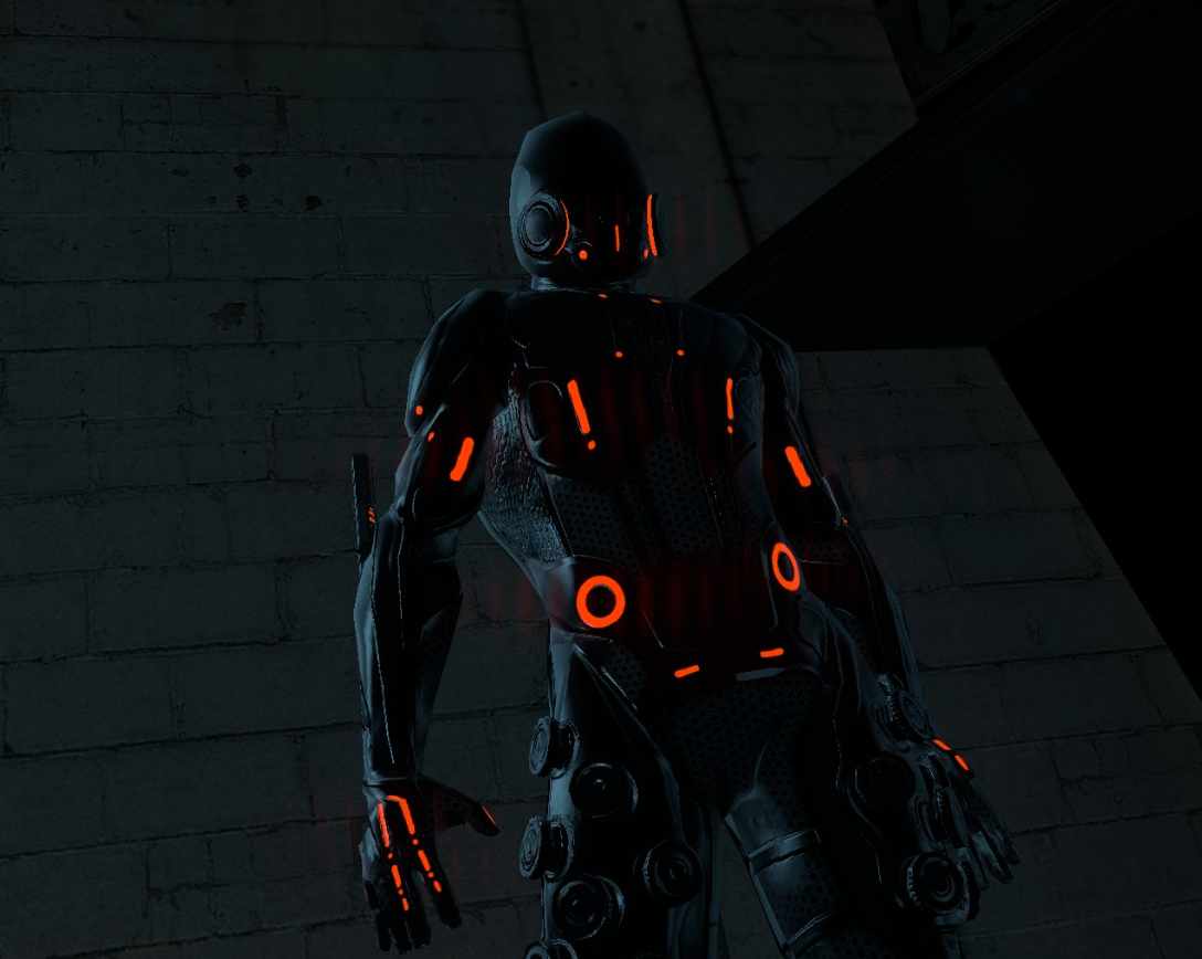 Tron: Evolution model needs rigging (Max 2011 files inside