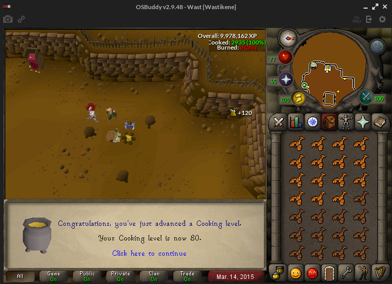 [07] Wastikese Noob skillz | 80/99 Cooking | 84/90 STR - Page 2 2cfbaf645206b5accfe120d7646e9c4d