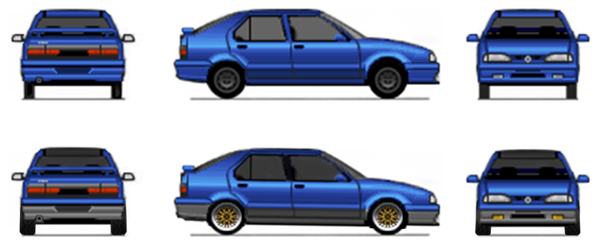 Virtual Stance Works - Forums - Show off your Pixel car art / Manga cars