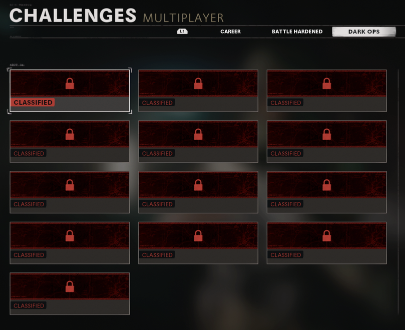 call of duty black ops cold war multiplayer dark ops challenges