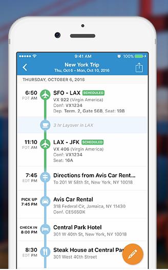 stress-free itinerary planning