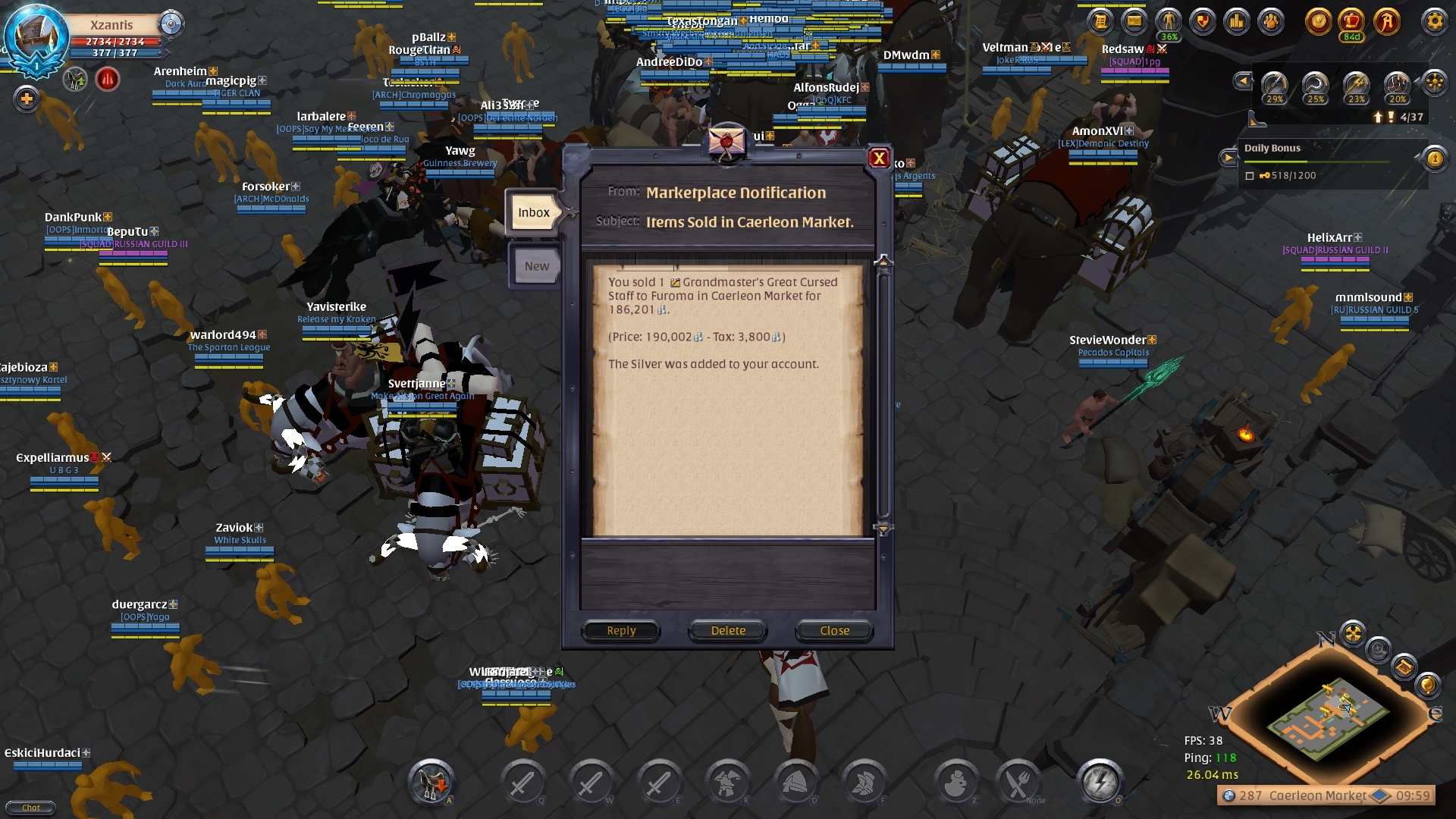 AUCTION HOUSE BUG - Bugs - Albion Online Forum