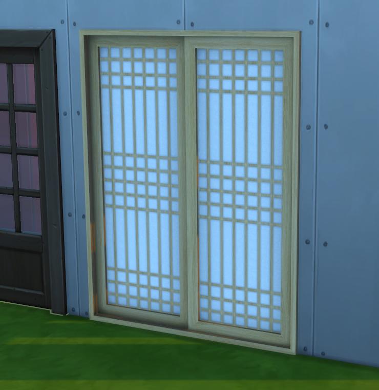 Sliding Doors The Sims 4: Korean Styled Windows And Doors
