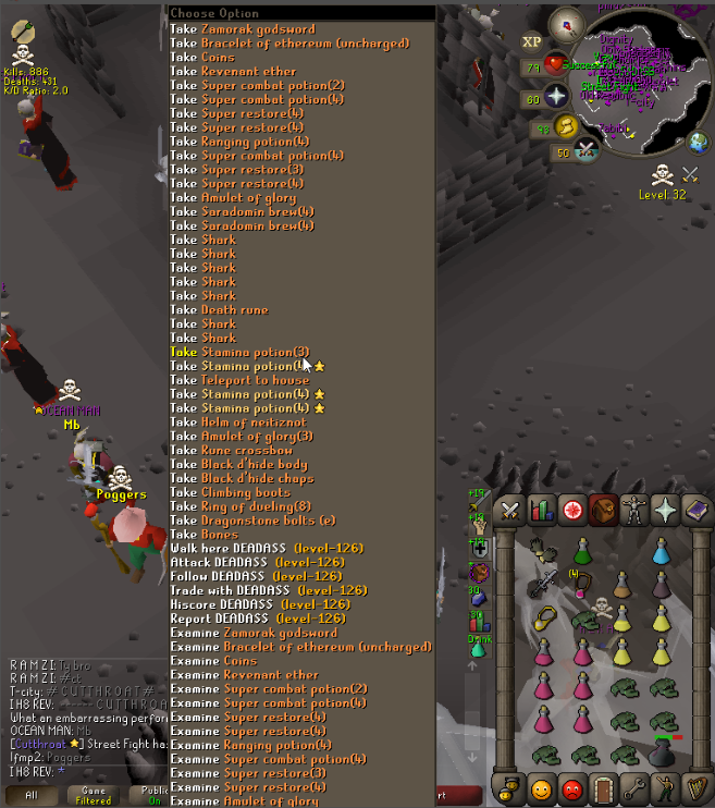 OSRS] Cutthroat Maces 1 BIL in 1 Day - Clan Fights & Events