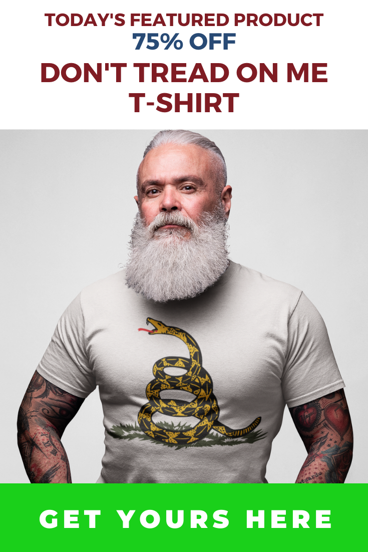 Image of Don't Tread on Me T-Shirt