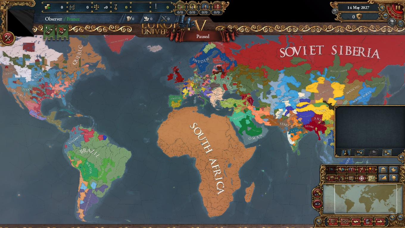 When You Mix Infinite war and Extended Timeline : eu4