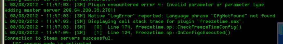 SourceMod] Freeze Time 1 0 0 3 - Obsidian Conflict Forums