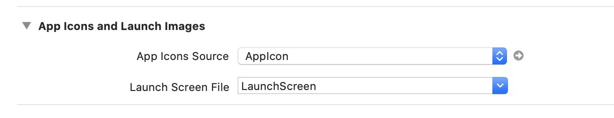 xcodeの表示です