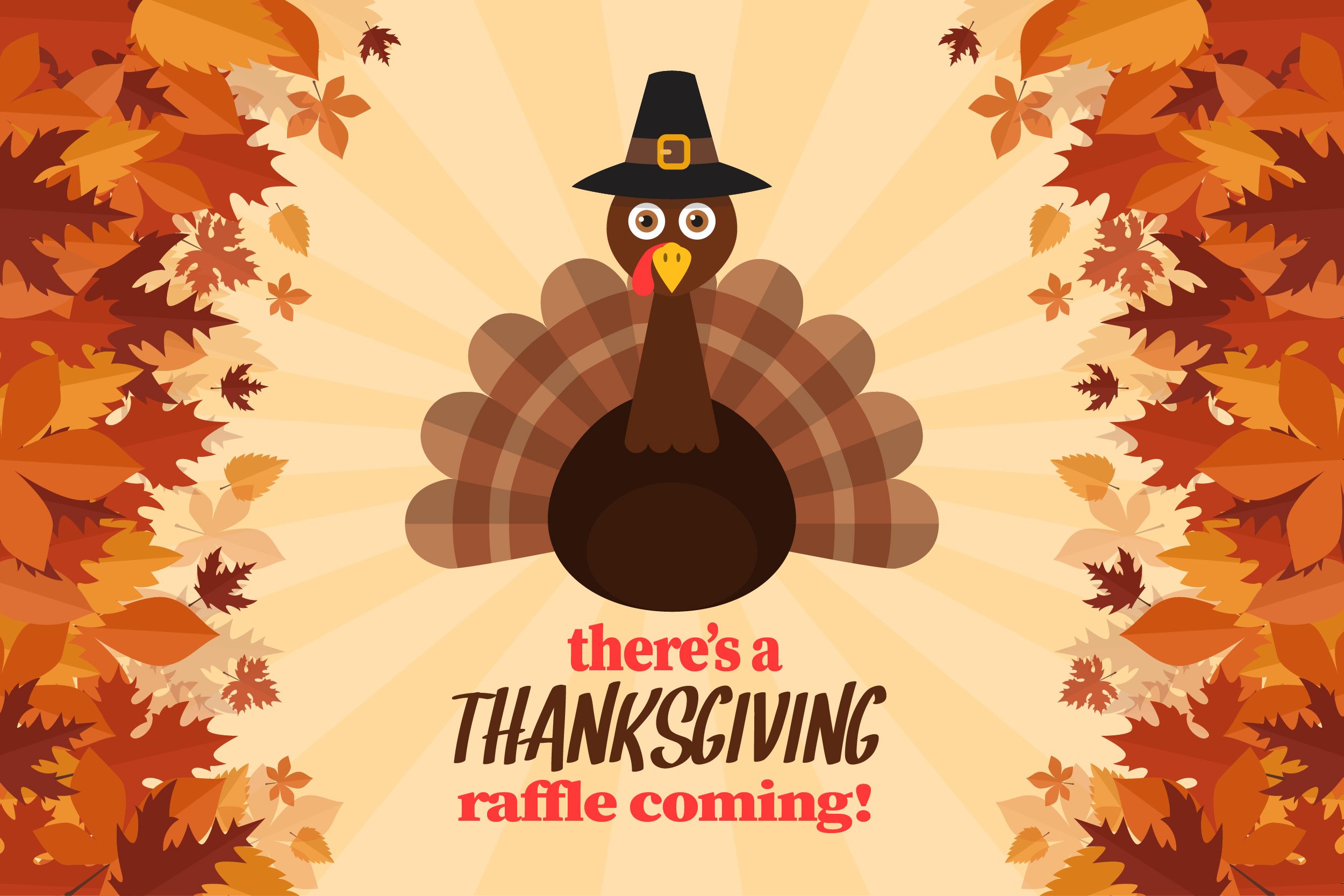 thanksgiving raffle