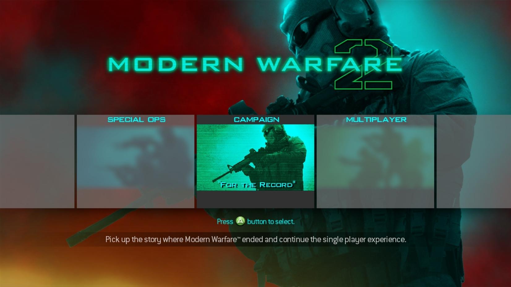 Custom Ui Mods Call Of Duty Modern Warfare 2 Modding Se7ensins Gaming Community