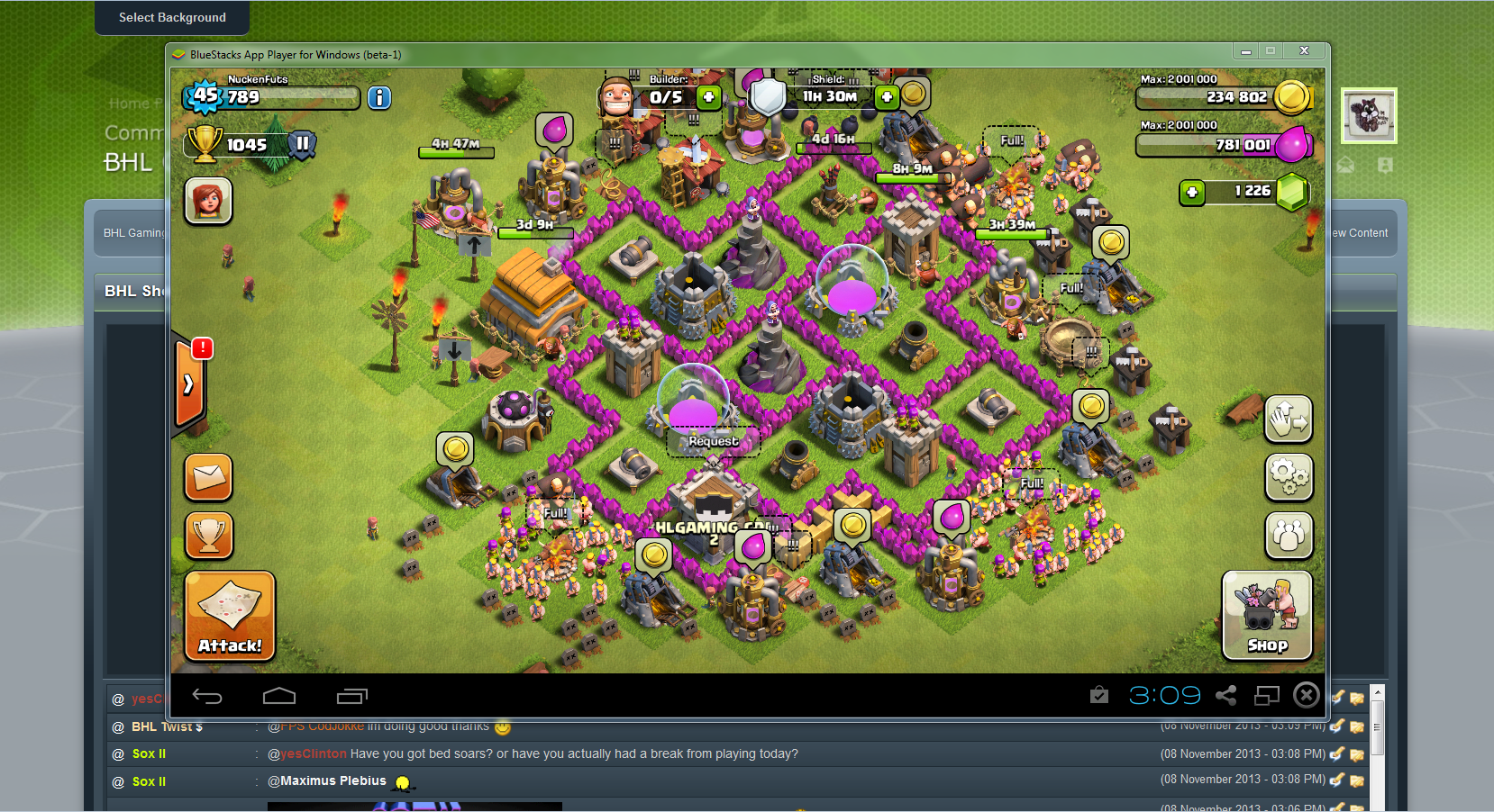 hack clash of clans pc