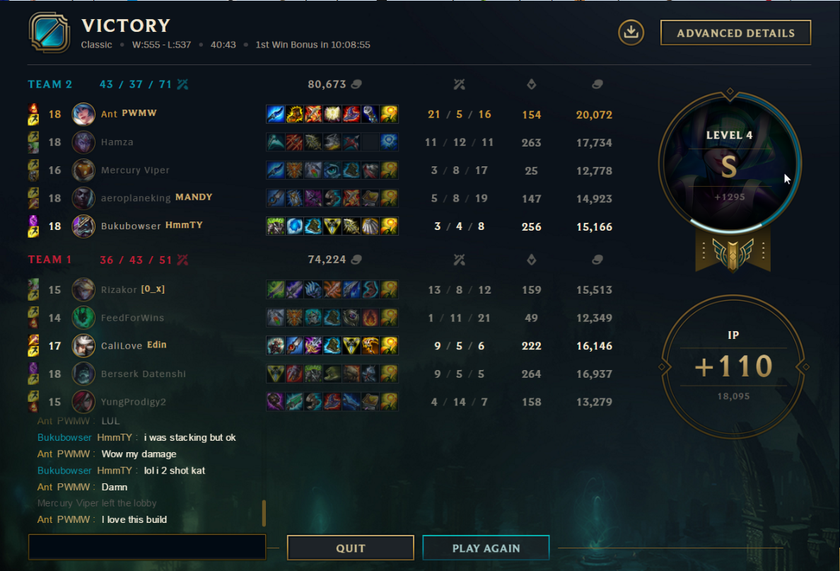 Ive Been Running The A Wild Ap Sona Build On And Off For The Past