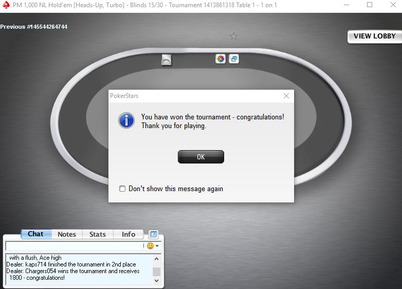 Poker h2h