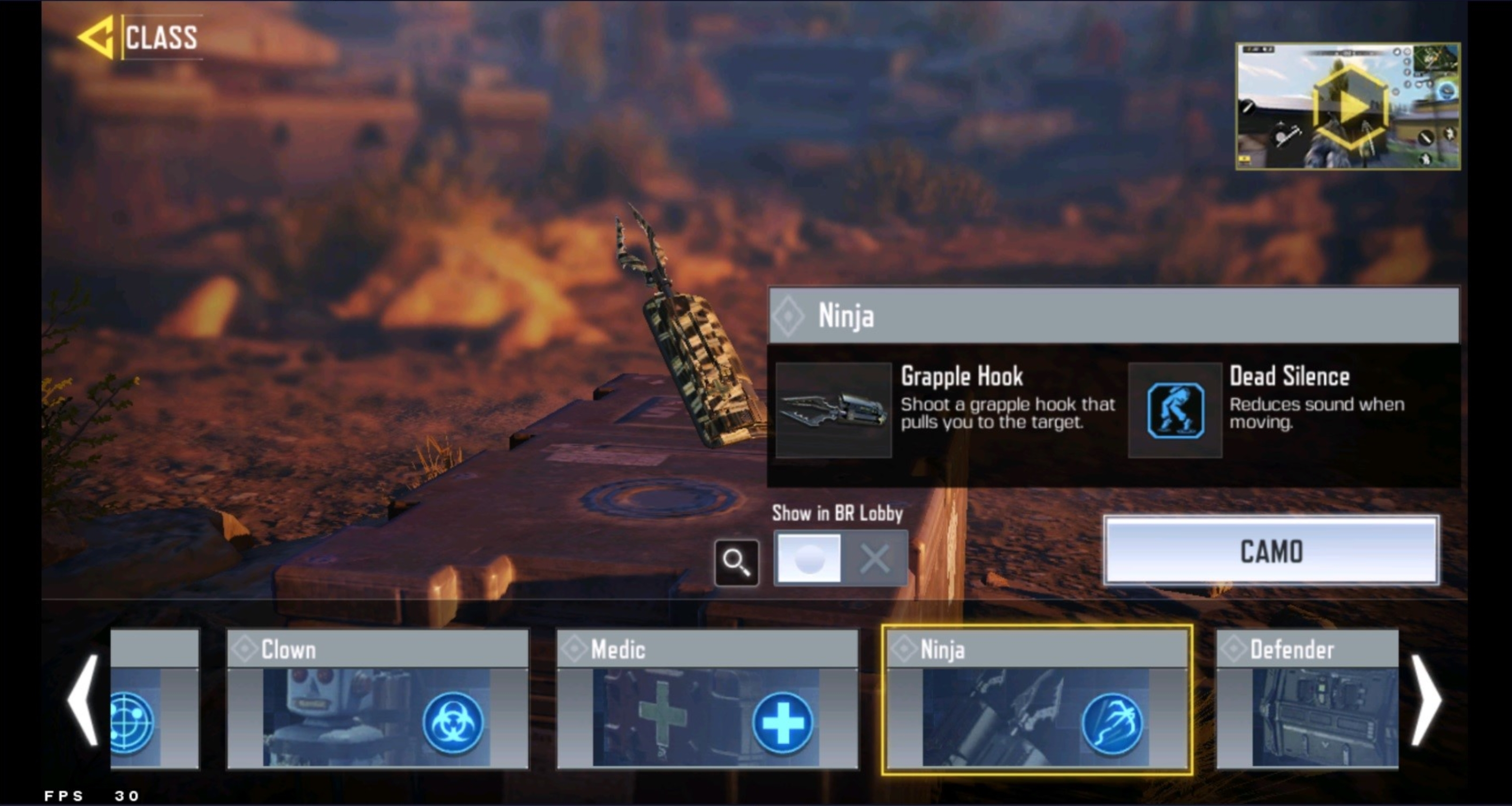 COD Mobile BR Class Chips