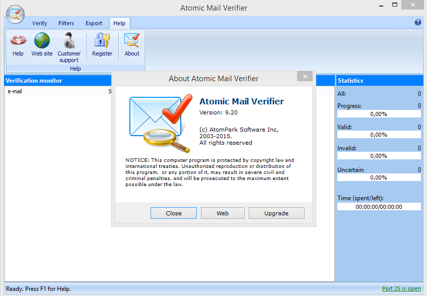 Atomic Mail Verifier v9.20 Full Crack Download