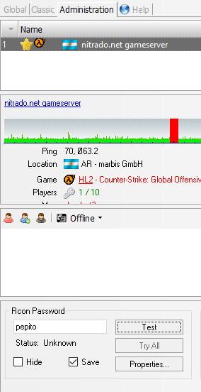 Configurar el servidor de CS:GO - Counter Strike: Global