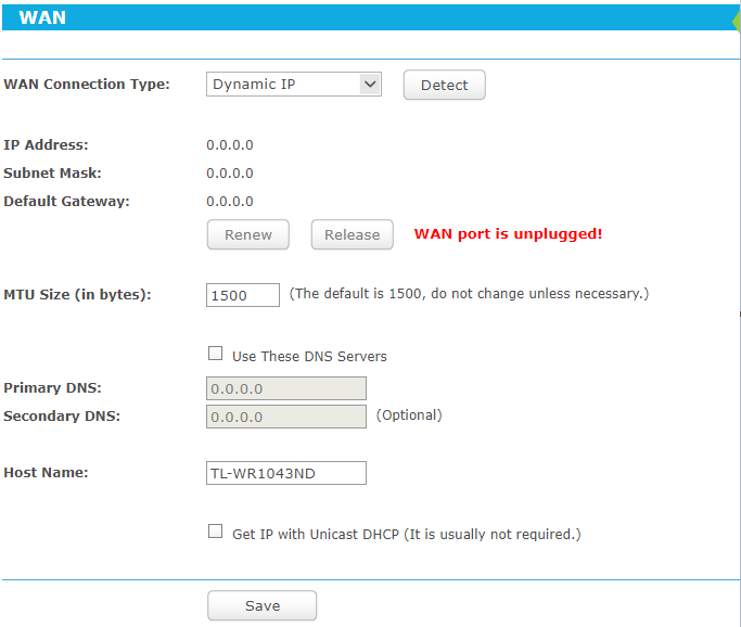 Can't get router to work with Static IP | Tom's Hardware Forum