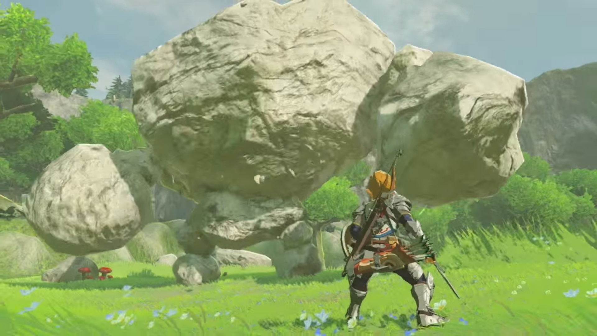 Breath Of The Wild Screensaver: The Legend Of Zelda: Breath Of The Wild