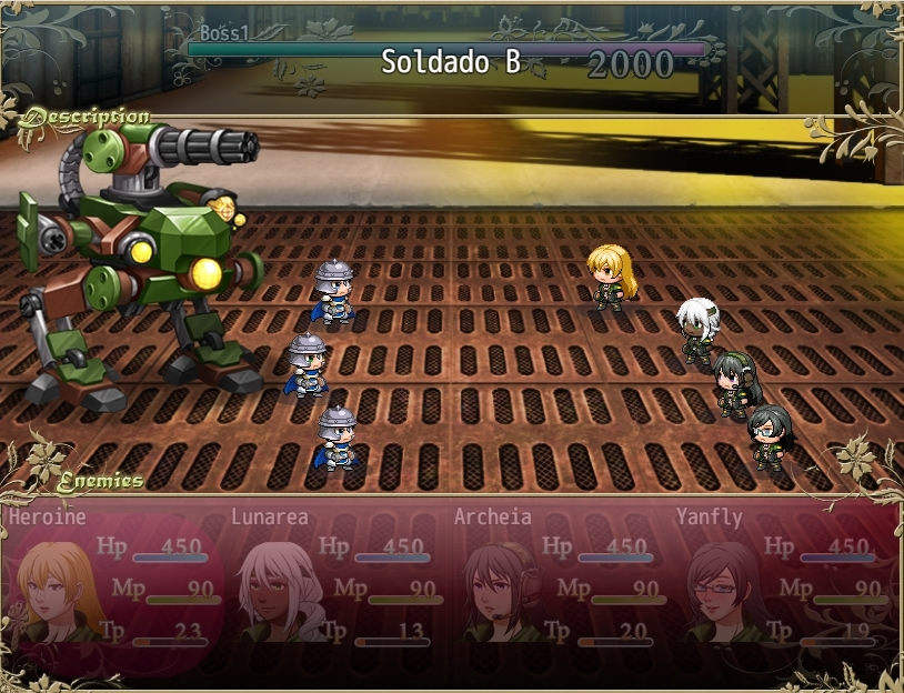 Someone can make compatible Atelier Battle Hud and Yanfly battle