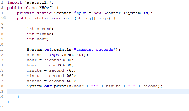 Of Seconds To Convert In H M S I Would Like To Only Use And In The Calculation So Far I Have This But It Is Not Working Out To Well