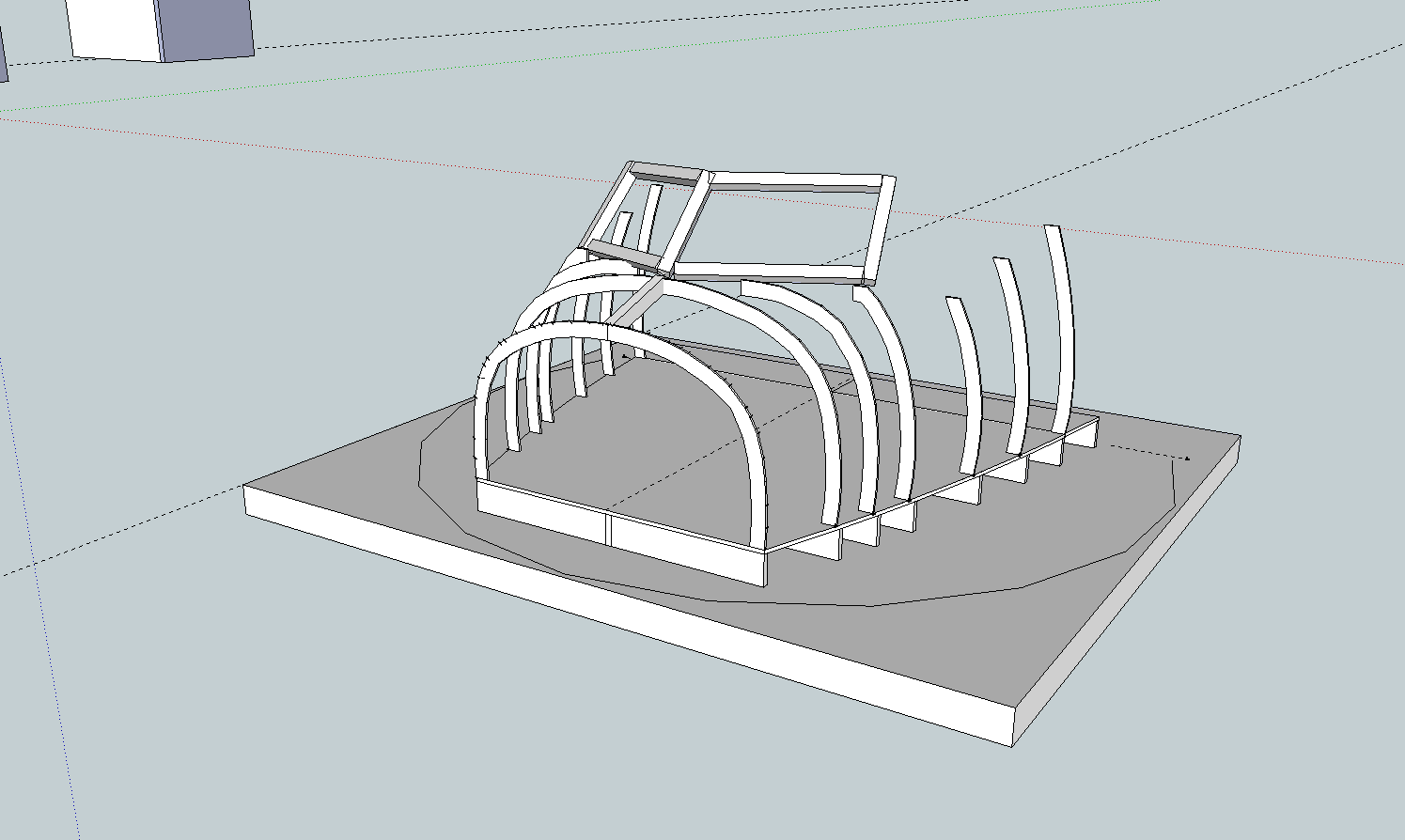 how to make screw threads in sketchup
