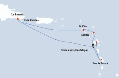 Guarda qui l'offerta Costa Crociere Caraibi!