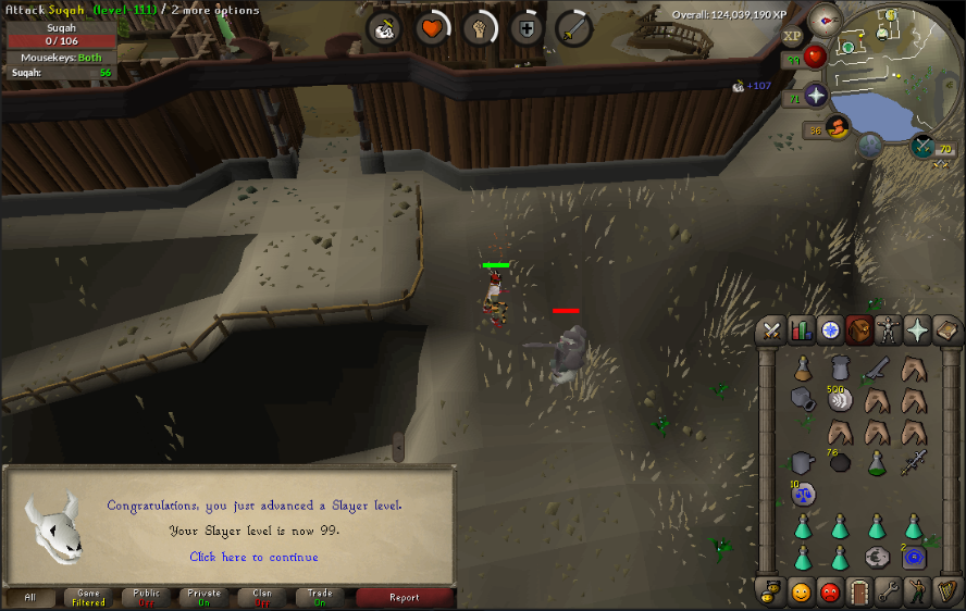 99 Slayer and loot from 96-99 slayer - Goals & Achievements - [ FOE