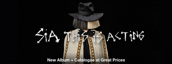 Sia - This Is Acting [iTunes Plus AAC M4A] (2016)