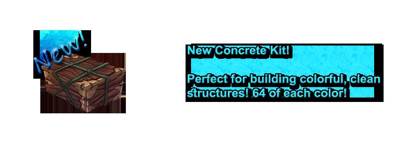 New Concrete Kit!