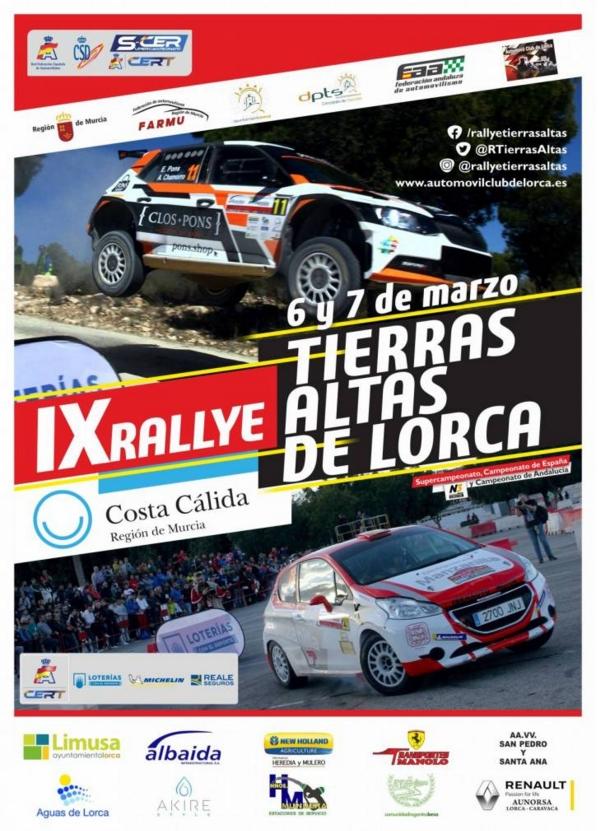 SCER + CERT: IX Rallye Tierras Altas de Lorca [6-7 Marzo] 393310aa44dd58155cd6fa0fb1267b93