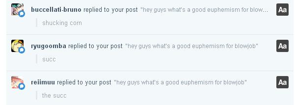 Blowjob forums