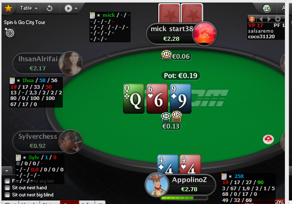 Holdem manager bug