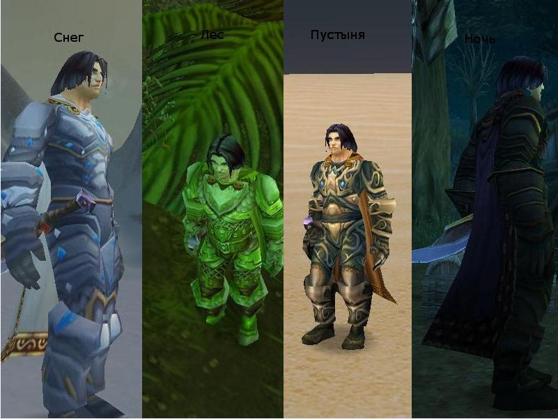 Типы одежды