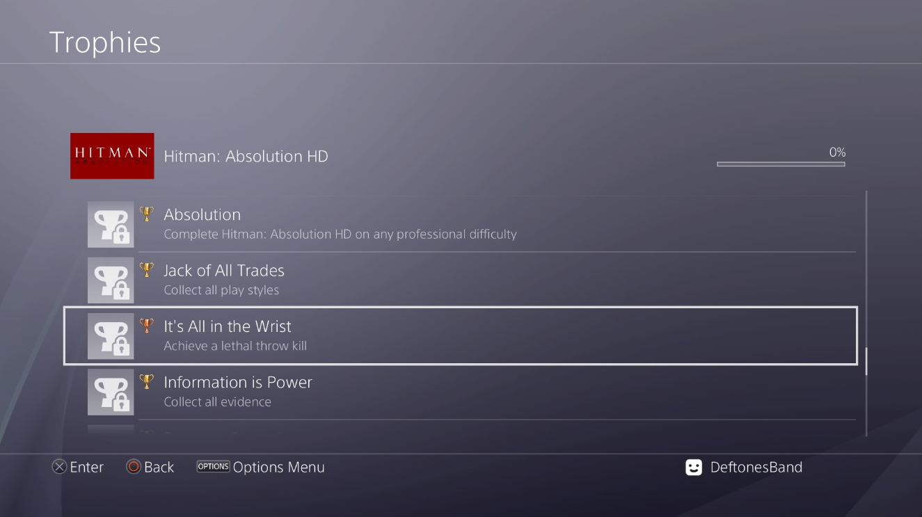 Hitman Hd Enhanced Collection Trophy List Revealed Unreleased