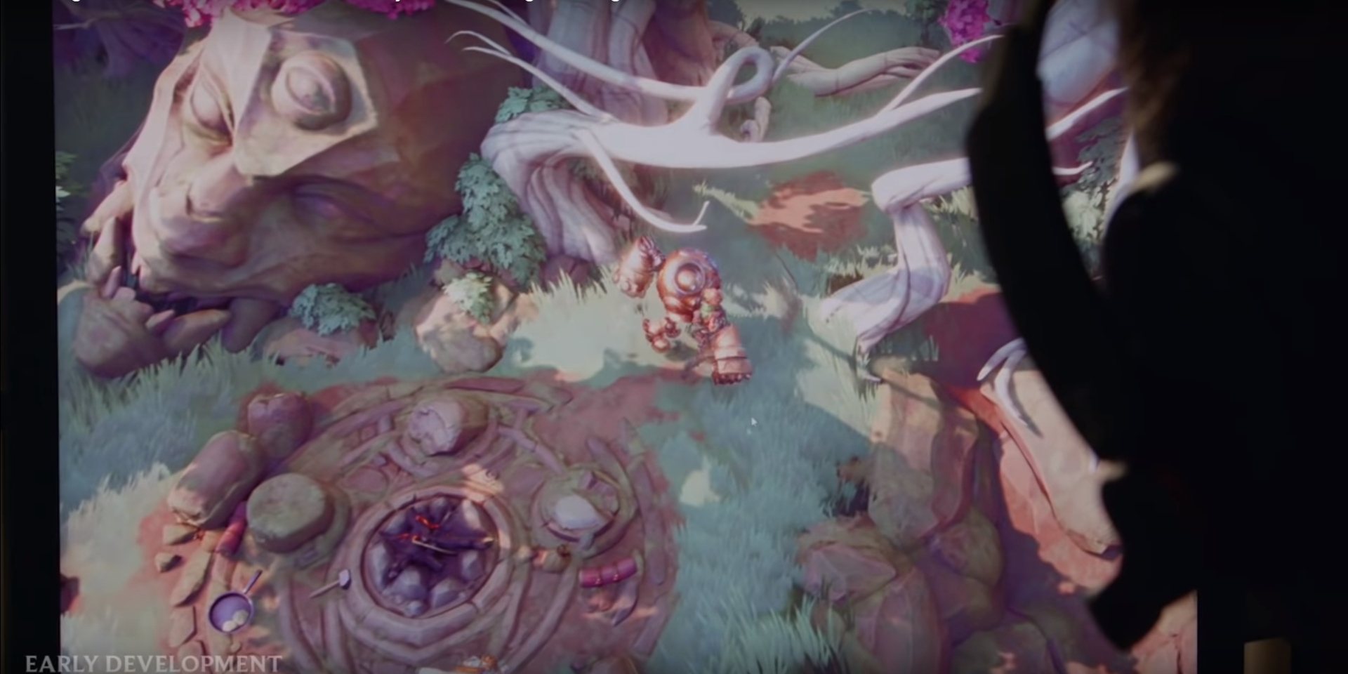 Una imagen de Project F, el futuro MMOARPG de Riot Games. Fuente: https://www.youtube.com/watch?v=WRf9tnWk2sg